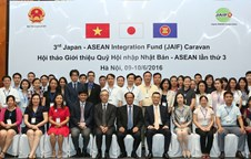 Japan-ASEAN Integration Fund Caravan arrives in Viet Nam