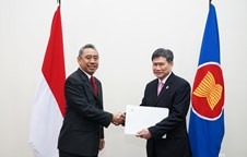 Presentation of Letter of Credentials by the Permanent Representative of Indonesia to ASEAN, H.E. Ade Padmo Sarwono